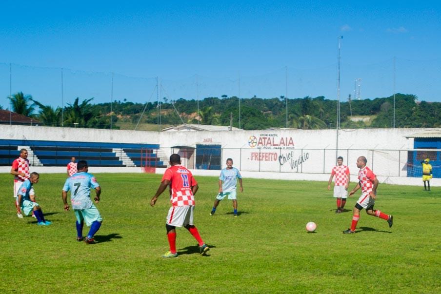 Três jogos e três empates na 4ª rodada do Atalaiense de Futebol Master 2019