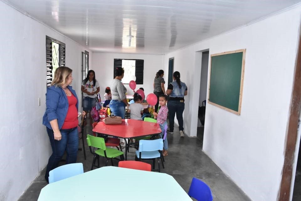 Prefeitura inaugura creche municipal no Distrito Ouriruri