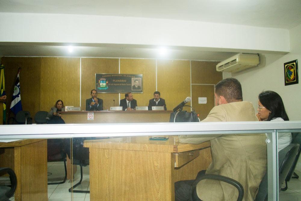 Sessão da Câmara Municipal de Atalaia do dia 11 de junho de 2019