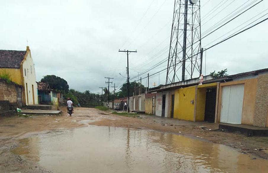 Avenida São Sebastião.