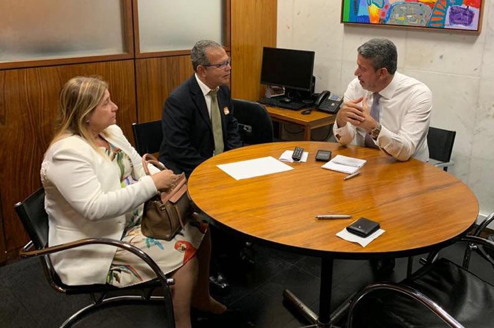 Em Brasília, Chico Vigário busca melhorias para a cidade de Atalaia