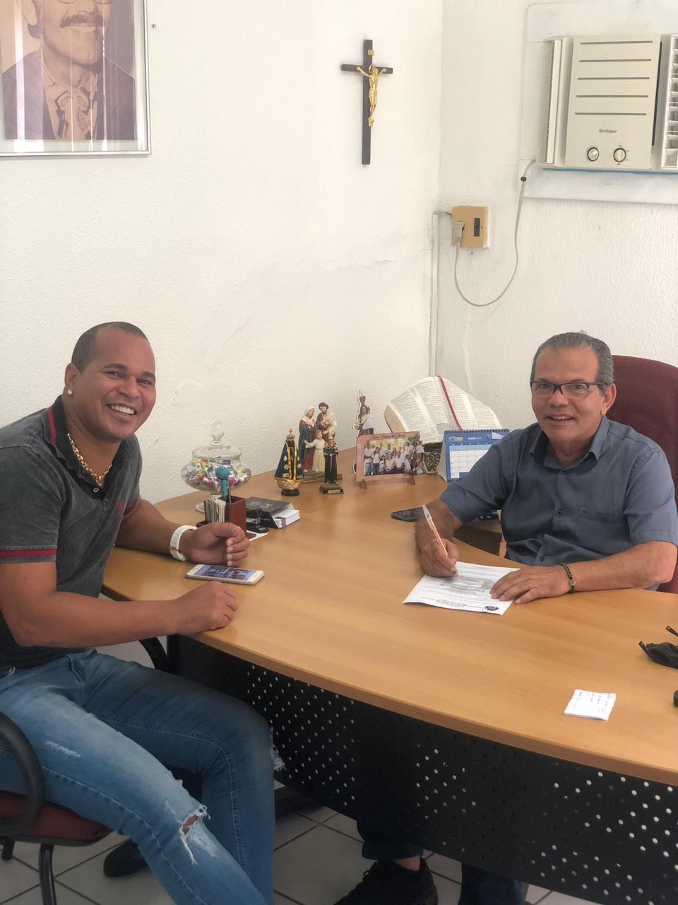 Aloísio Chulapa reassume a Secretaria Municipal de Esporte e Lazer