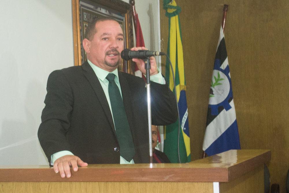 Vereador Quinho do Portão.