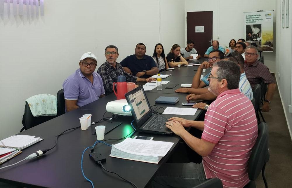 Reunião foi realizada na EMATER-AL.