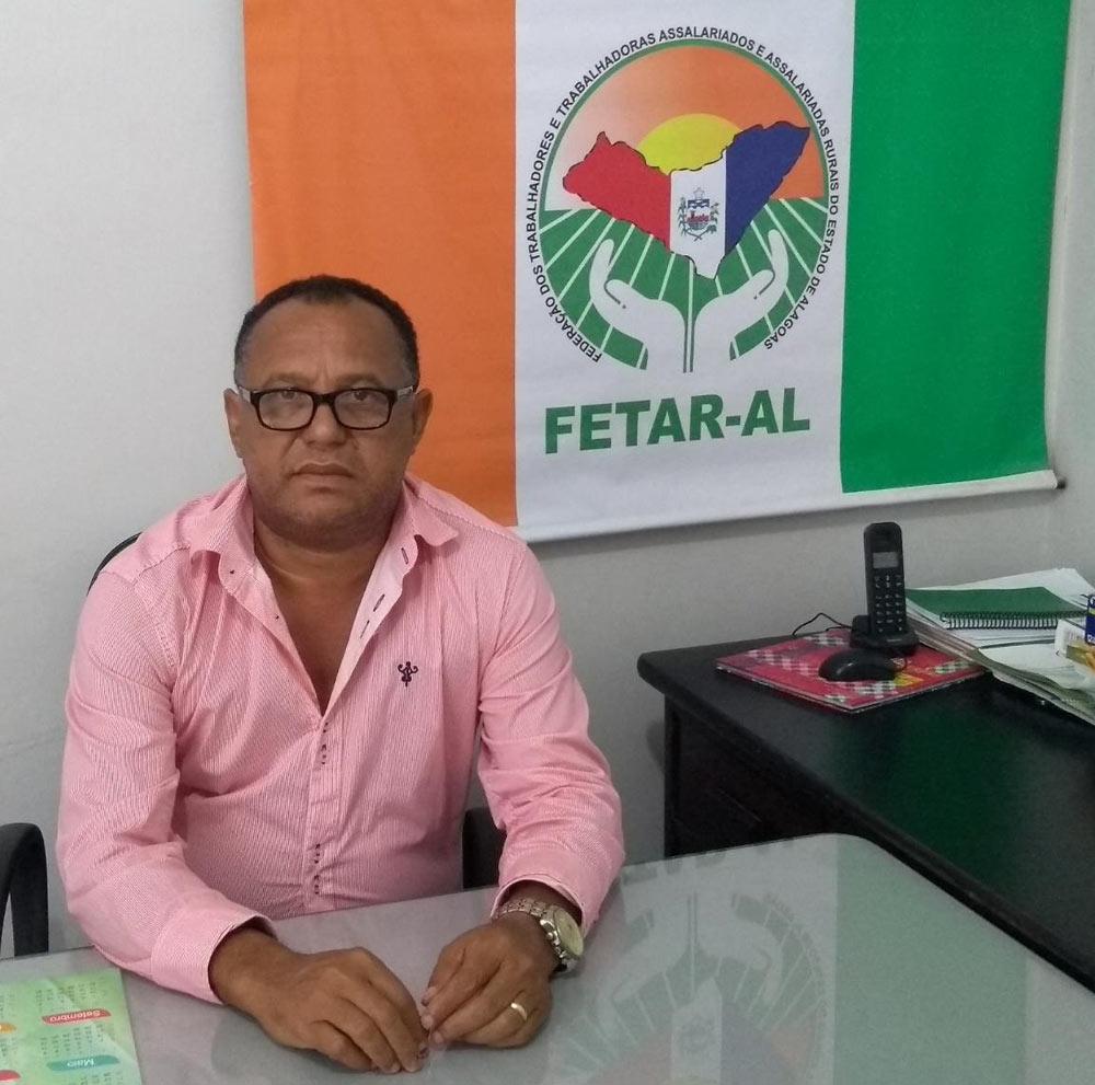 Falece, aos 57 anos, Cícero Domingos, ex-presidente do Sindicato dos Trabalhadores Rurais de Atalaia
