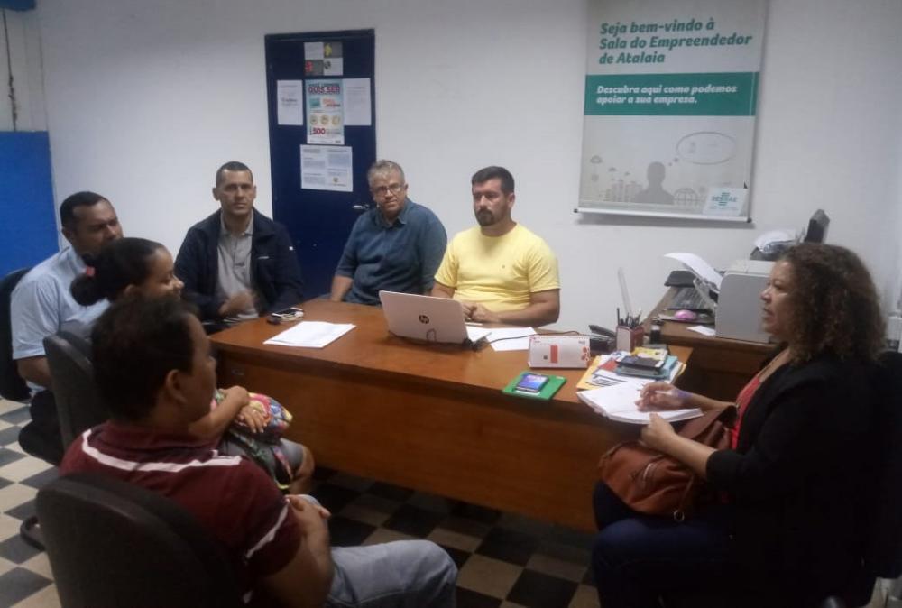 Casa do Empreendedor e Iteral discutem organização da 1ª Feira da Agricultura Familiar de Atalaia.