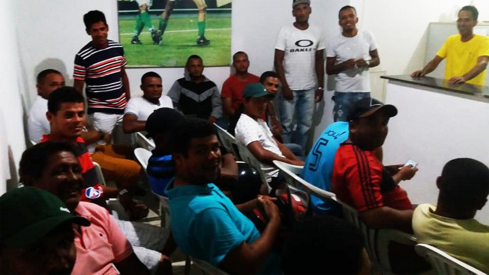 Reunião sobre o Atalaiense de Futebol Amador 2019.