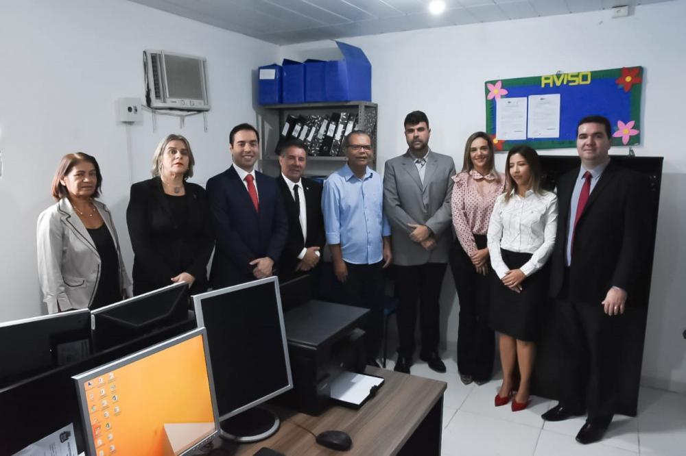 Inauguração da nova sede da PGM de Atalaia