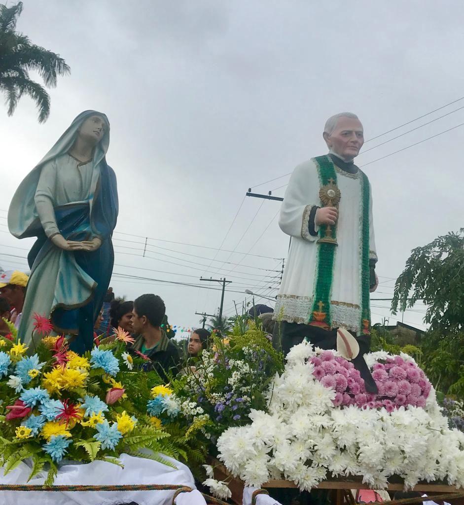 Deputado Marcelo Beltrão e vereador Quinho acompanham fiéis em Romaria que homenageia Padre Cícero