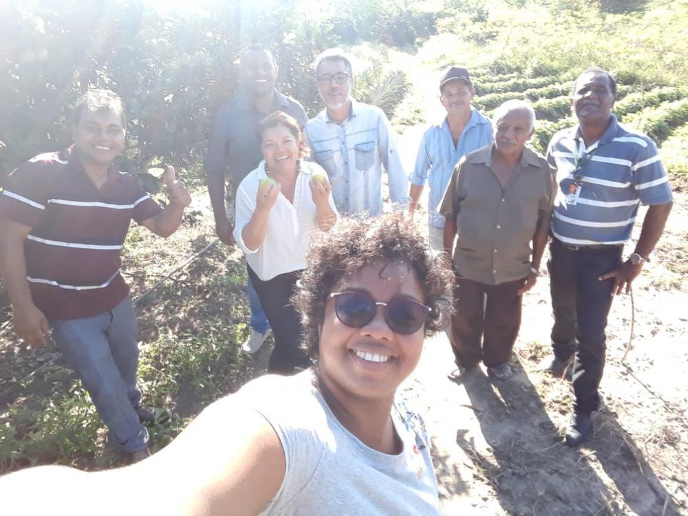 Visita a Assentamentos no município de Atalaia.