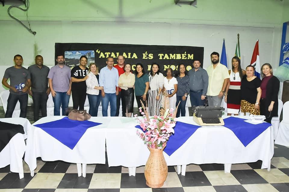Ex-prefeito Miguel Correia foi um dos homenageados do evento.