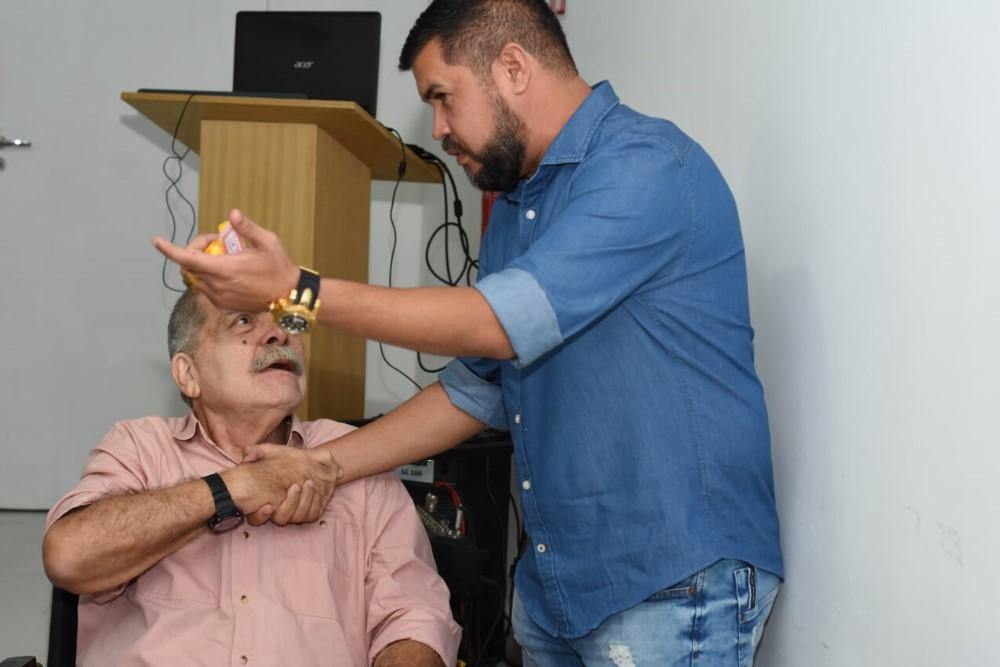 Vereador Marcos Rebollo prestigia lançamento de projeto que visa resgatar as memórias de Atalaia