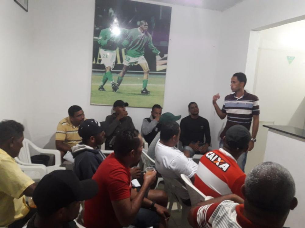Reunião defini regulamento e data de início da 2ª Divisão do Atalaiense de Futebol.
