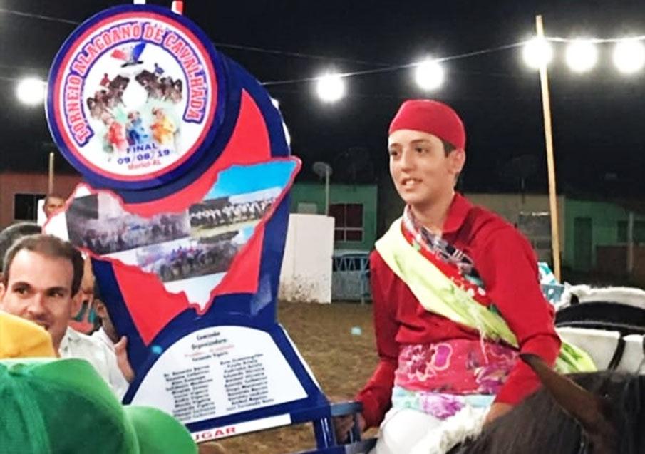 Léo Vigário é o campeão do Campeonato Alagoano de Cavalhada 2019.