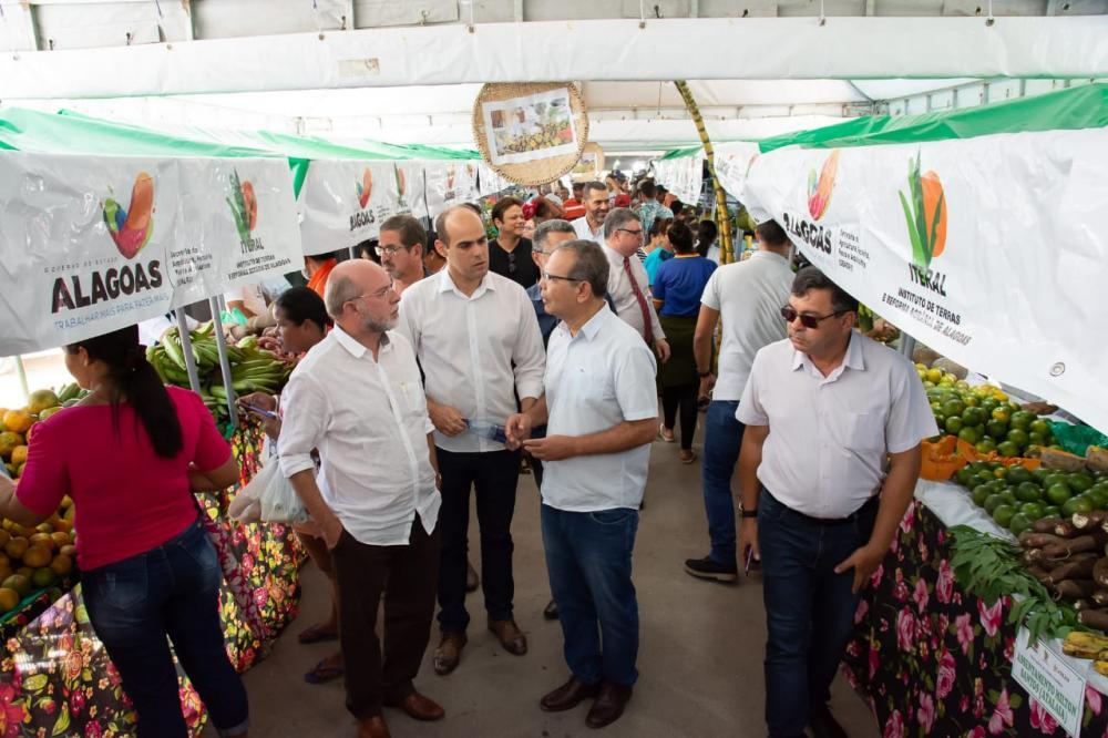 Freira Agrária do Crédito Fundiário é realizado na cidade de Atalaia. Foto: Alberto Vicente/ASCOM Atalaia
