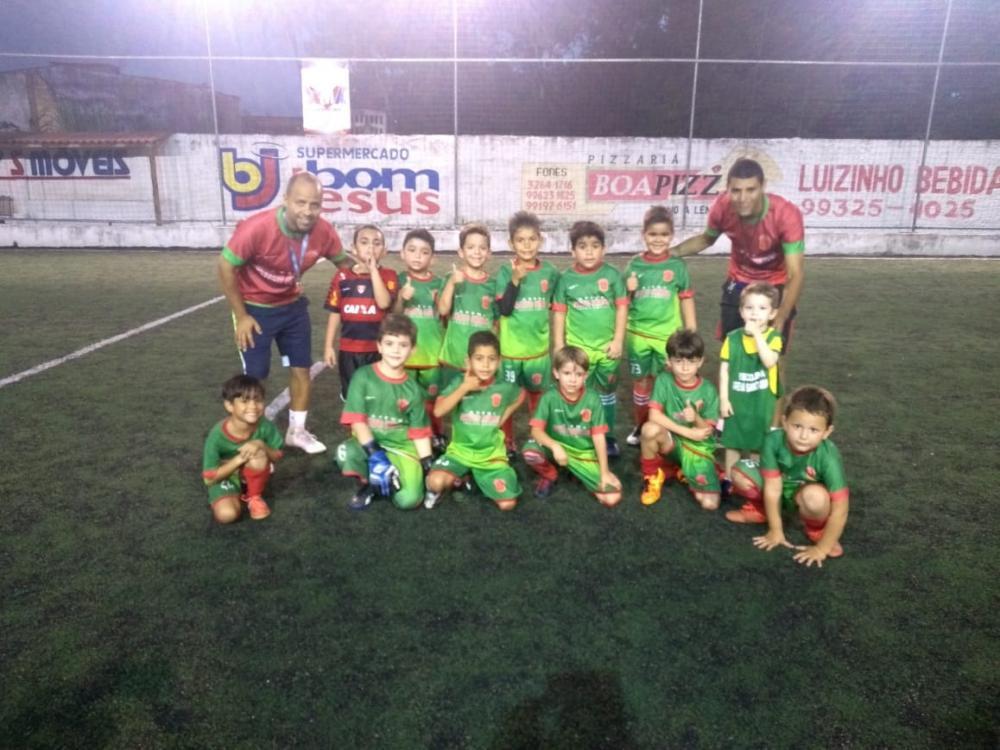 II Torneio Interno da Escolinha Arena Santo Amaro.