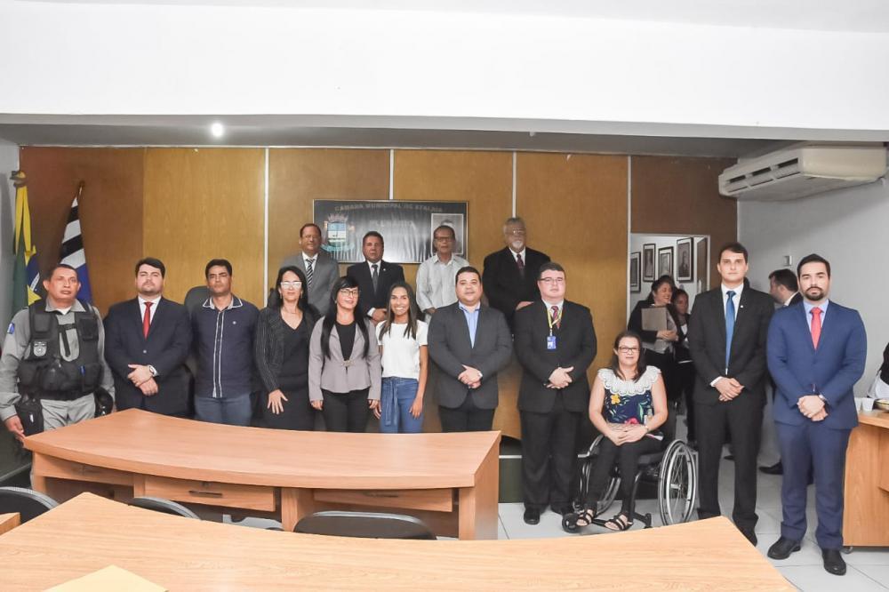 Posse dos membros do Conselho Municipal de Segurança Pública de Atalaia.