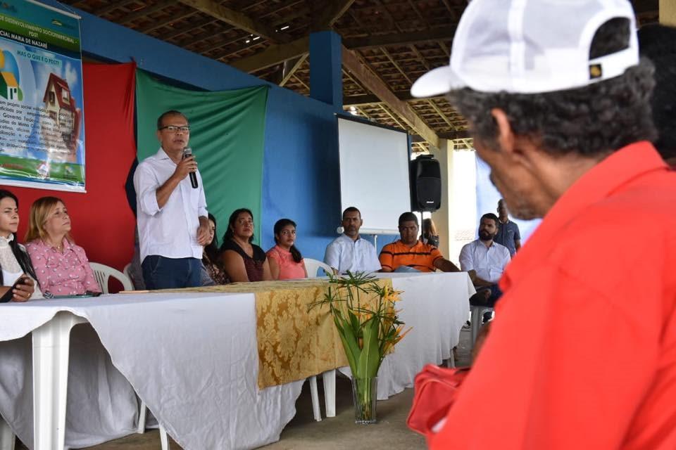 Projeto de Desenvolvimento Socioterritorial vai beneficiar os moradores do Residencial Maria de Nazareth