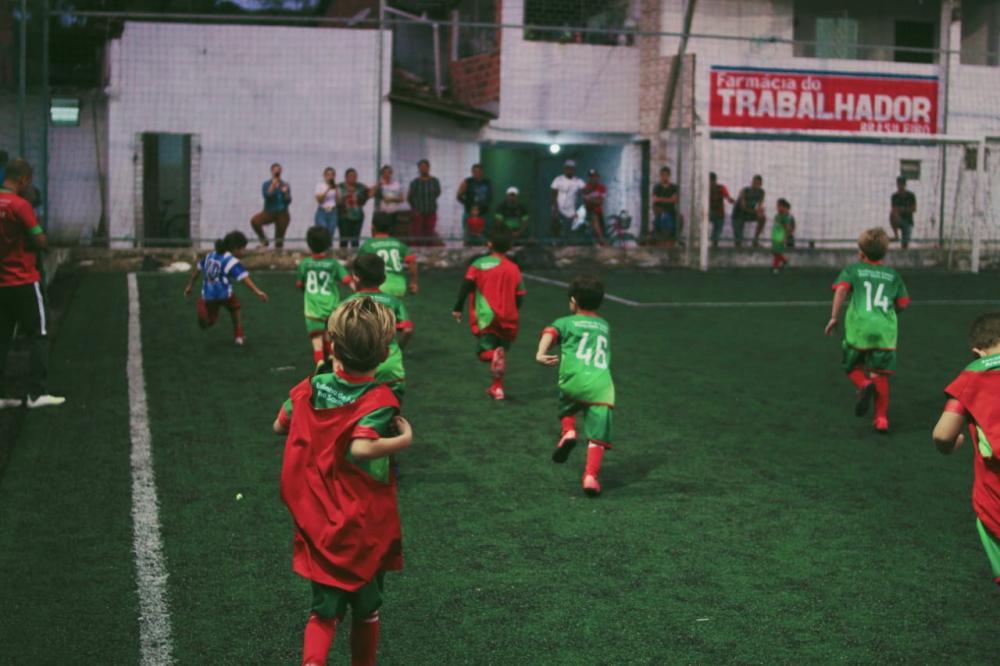 Escolinha Arena Santo Amaro.