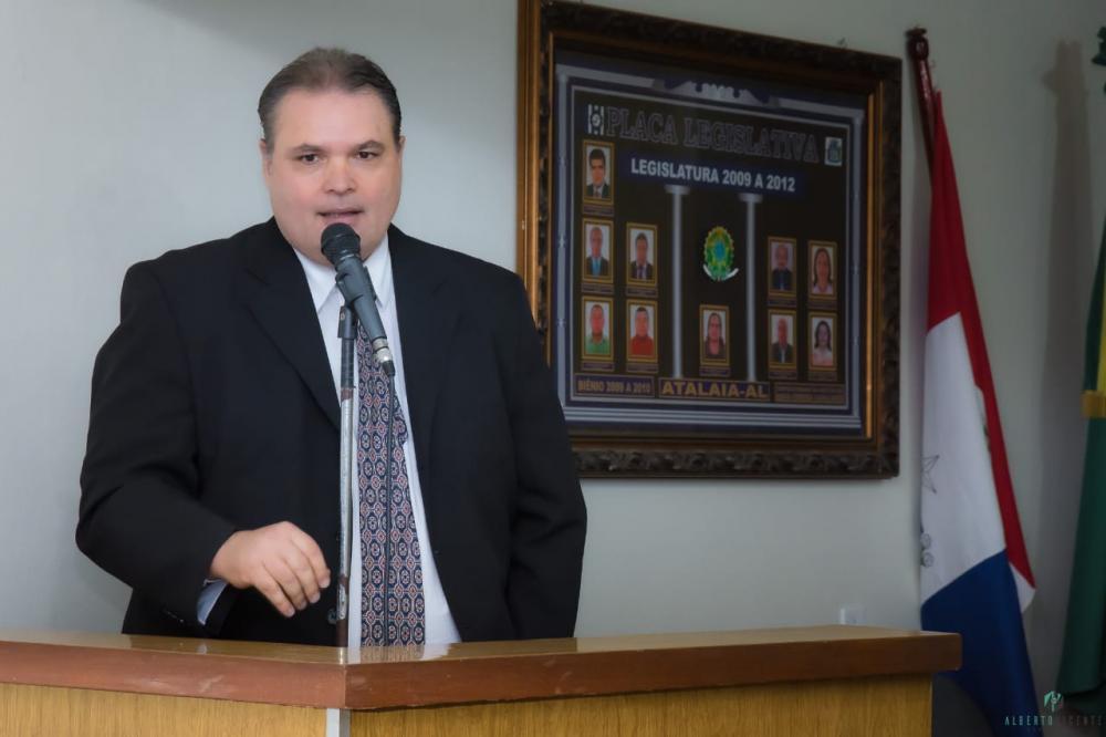 Vereador Fabrício Torres. Foto: Alberto Vicente