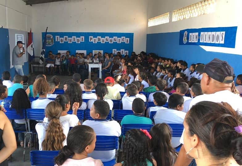 Palestra faz parte do Projeto Atalaia: Nossa gente, nosso orgulho e do Projeto Defesa Civil na Escola.