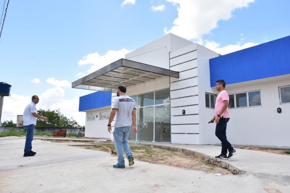 UBS do Altos já está em fase de conclusão. Foto: Alberto Vicente.