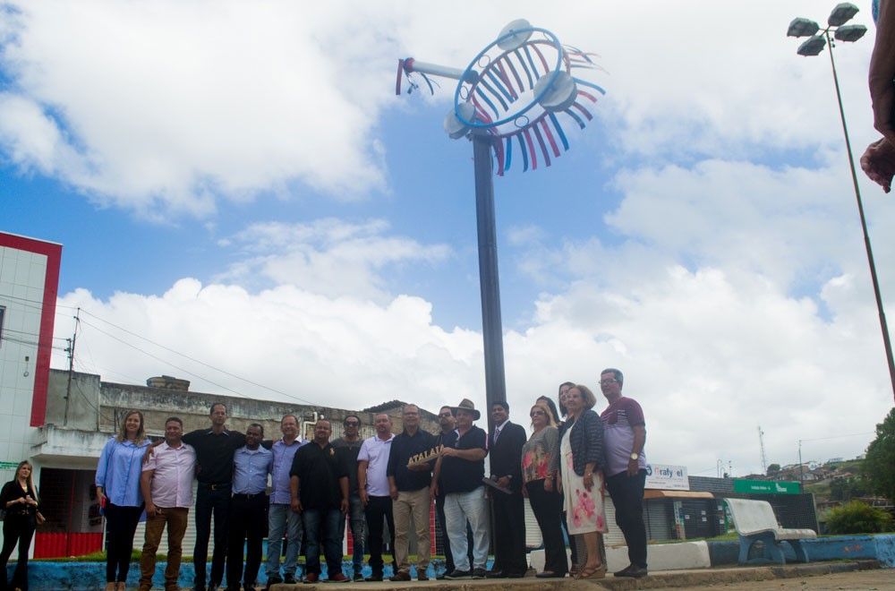 Emoção e homenagens marcam a inauguração de Monumento Cultural em Atalaia
