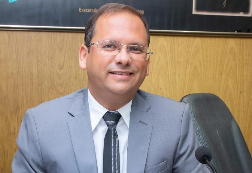 Vereador Alexandre Tenório, Presidente da Câmara Municipal de Atalaia.