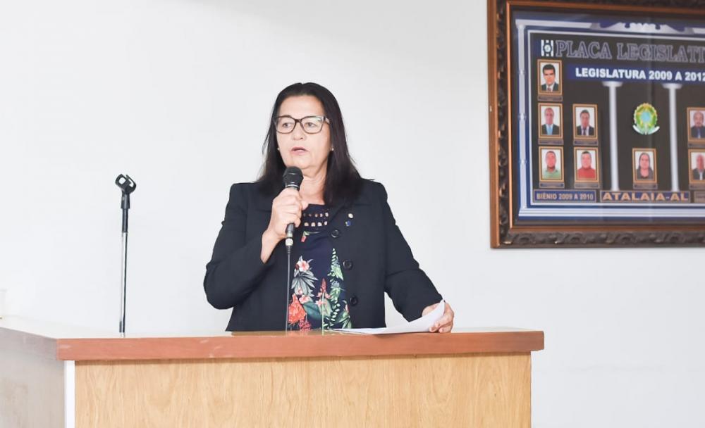Vereadora Neide Miranda comentou sobre a inauguração da UBS José Paulino e sobre a homenagem ao seu filho.