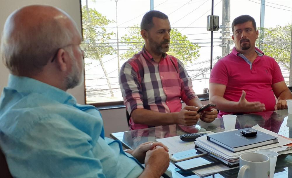 Reunião na Iteral. Foto: Helciane Pereira (Iteral/Ascom)
