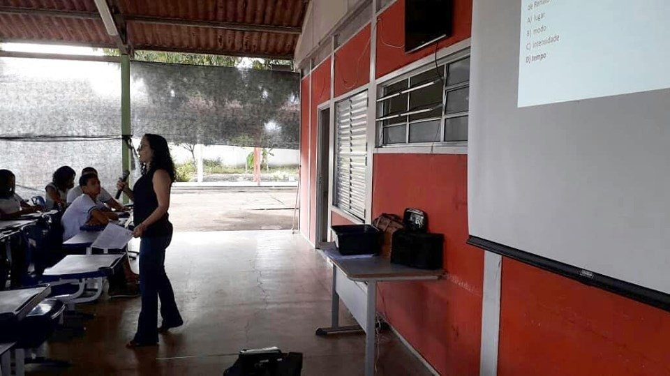 Alunos do 9º ano de Escolas da Rede Municipal participam de aulão preparatório para a prova do SAEB