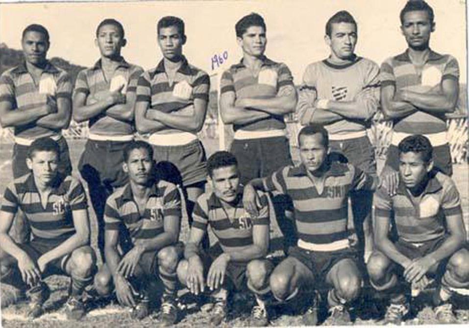 Lendário time do Esporte Clube Ouricuri de 1959 e 1960.