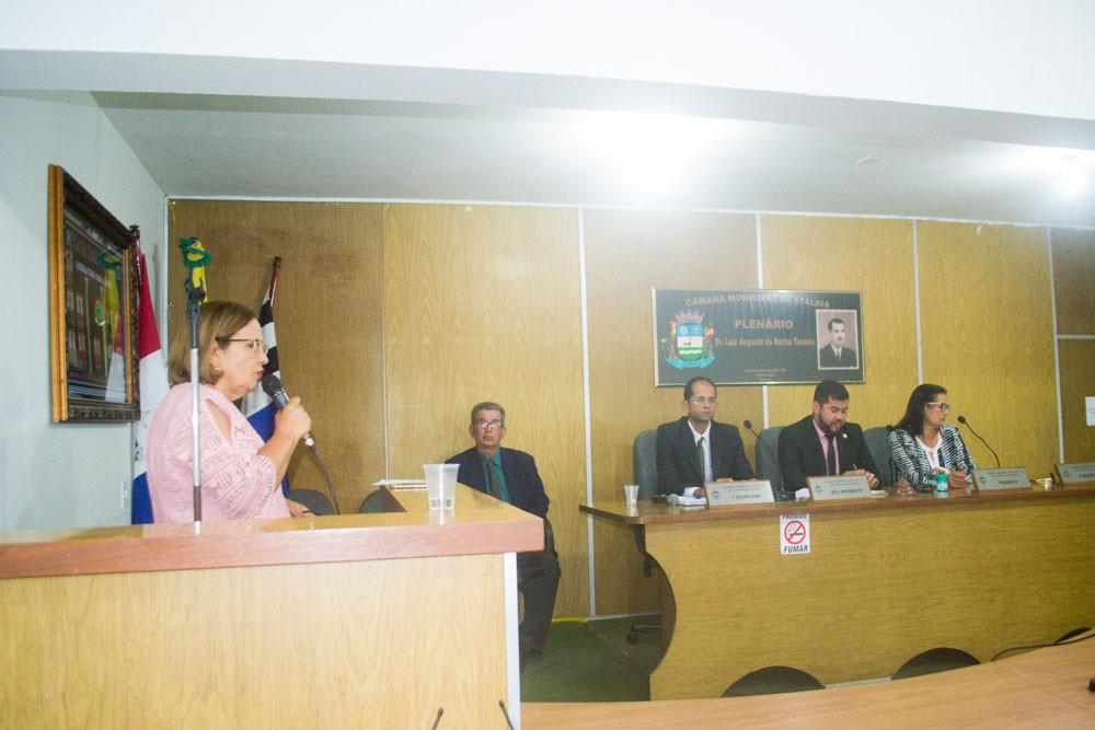 Sessão Ordinária da Câmara Municipal de Atalaia do dia 08 de Outubro de 2019