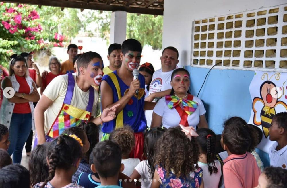 Projeto Semana das Crianças foi desenvolvido pela Semed em todas as creches do município.