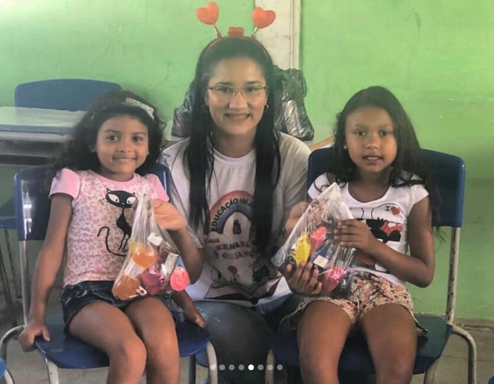 Na Semana das Crianças, Semed Atalaia promove atividades especiais em creches do município