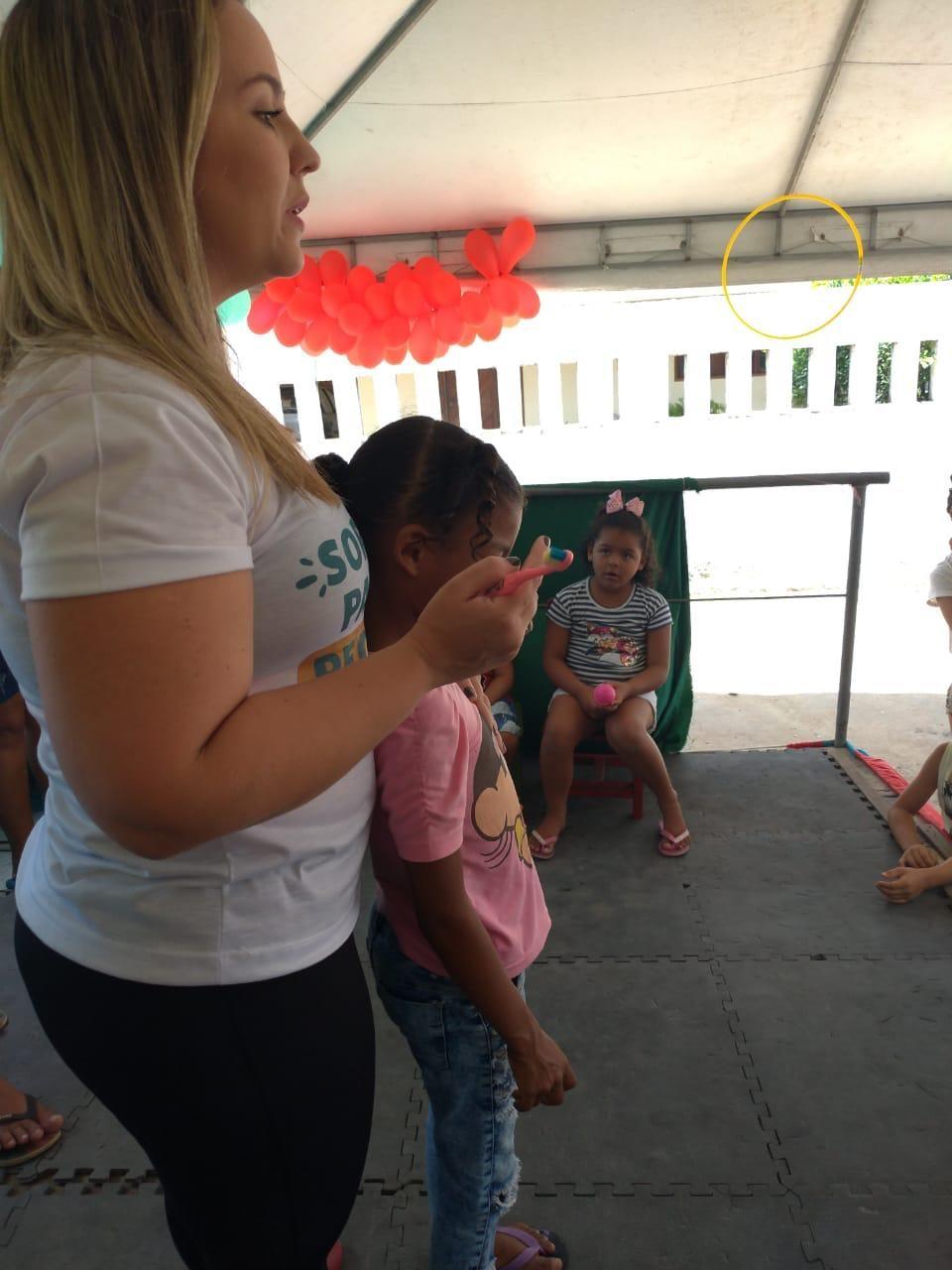 Rede OrtoEstética Atalaia leva informação e saúde bucal para as crianças do Distrito Branca