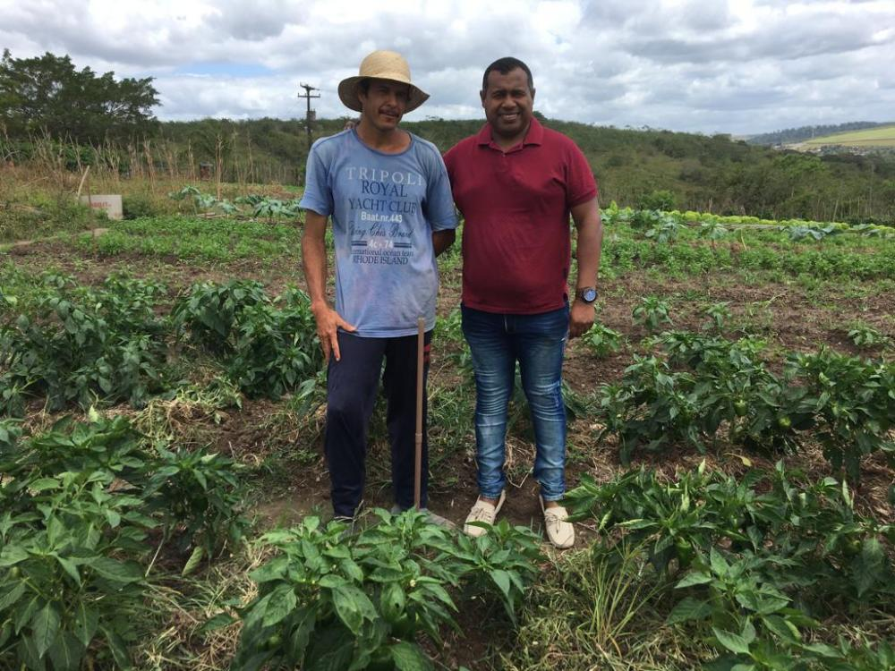 Secretário de Agricultura faz visita técnica ao Sítio São João