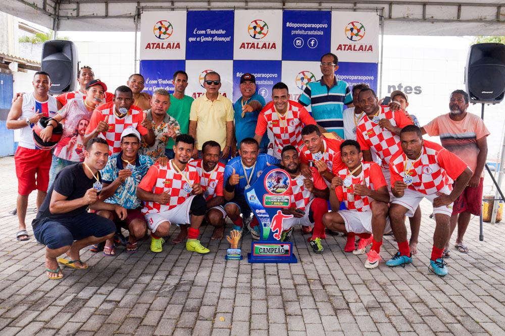 Asa Branca é a grande campeã da 2ª Divisão do Atalaiense de Futebol Amador.