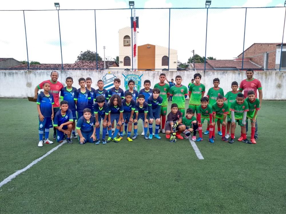 Escolinha Arena Santo Amaro disputa jogos amistosos contra a Escolinha do CSA