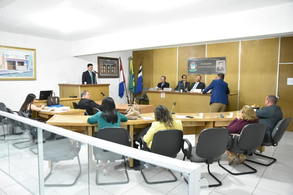 Sessão do dia 22 de Outubro de 2019. Foto: Alberto Vicente.