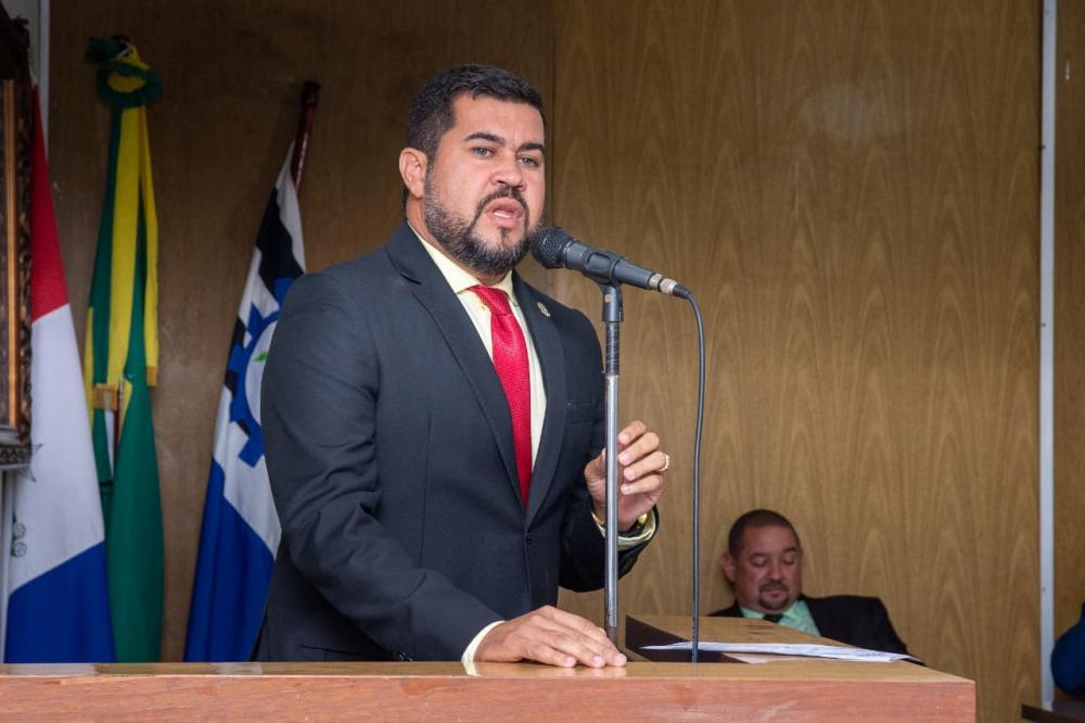 Vereador Marcos Rebollo, vice-presidente da Casa.