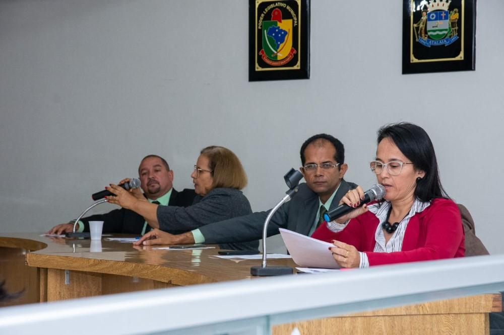 Sessão Ordinária da Câmara Municipal de Atalaia do dia 29 de Outubro de 2019