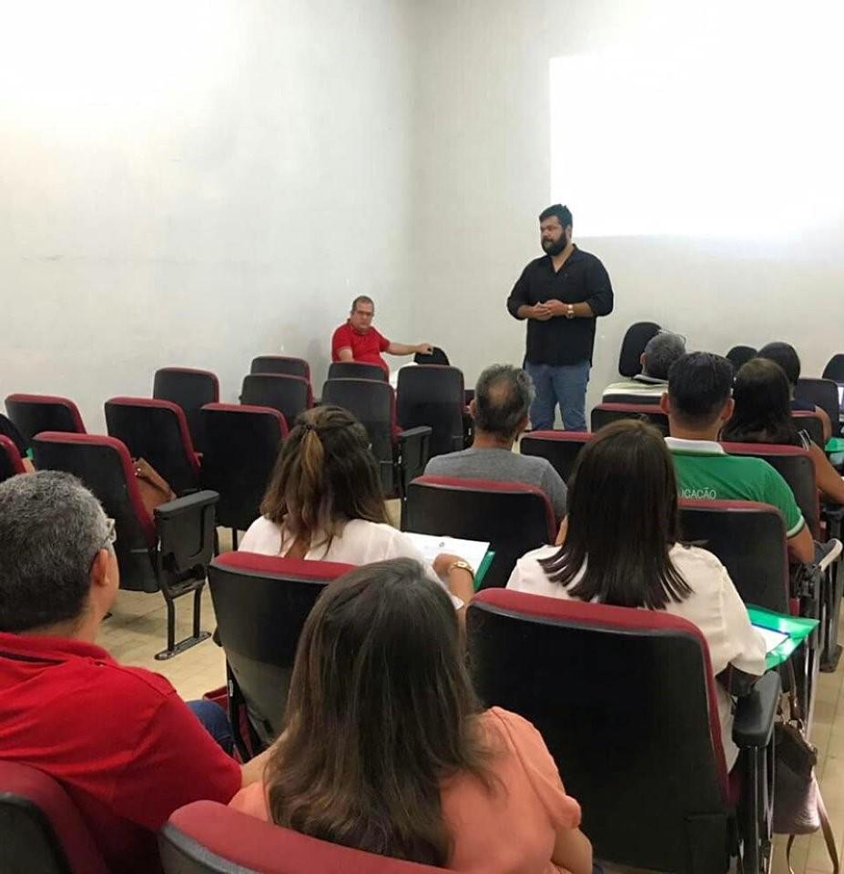 SEMED inicia curso de formação para gestores escolares