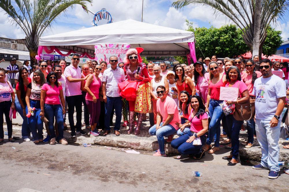 Dia D da campanha Outubro Rosa em Atalaia.