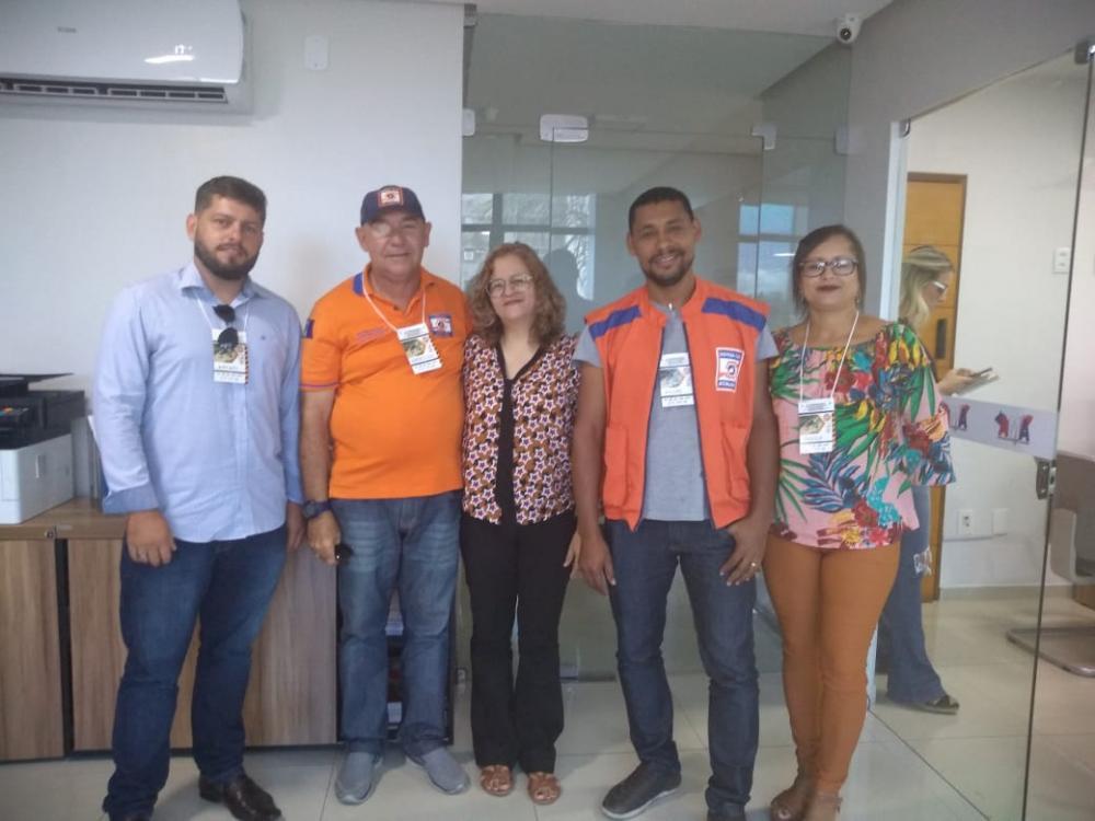 Coordenadoria de Defesa Civil de Atalaia participa de evento na AMA.