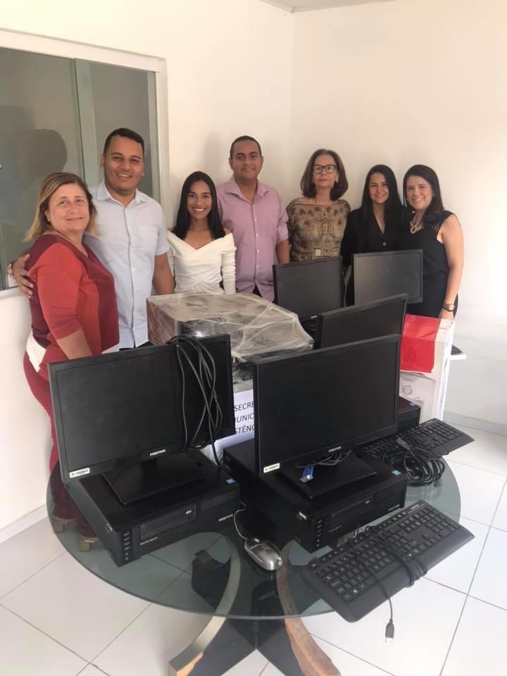 Conselho Tutelar de Atalaia recebe novos equipamentos para um melhor atendimento à população