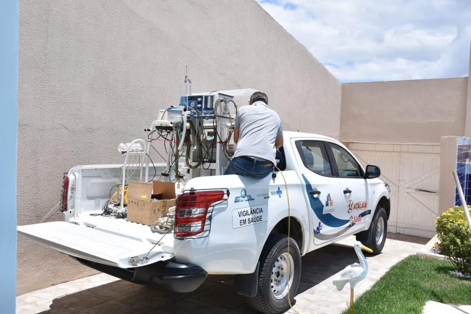 Município de Atalaia recebe a doação de equipamentos hospitalares