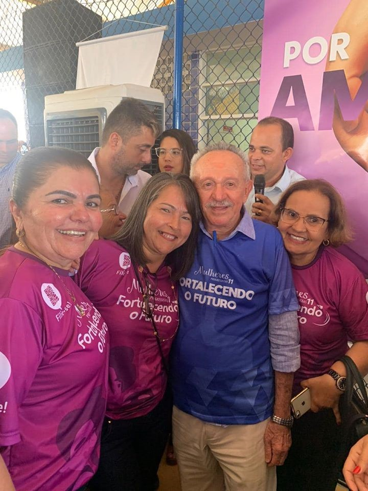 Mulheres Progressistas: Vereadora Maria da Comesa participa da maior ação de filiação para mulheres do Brasil