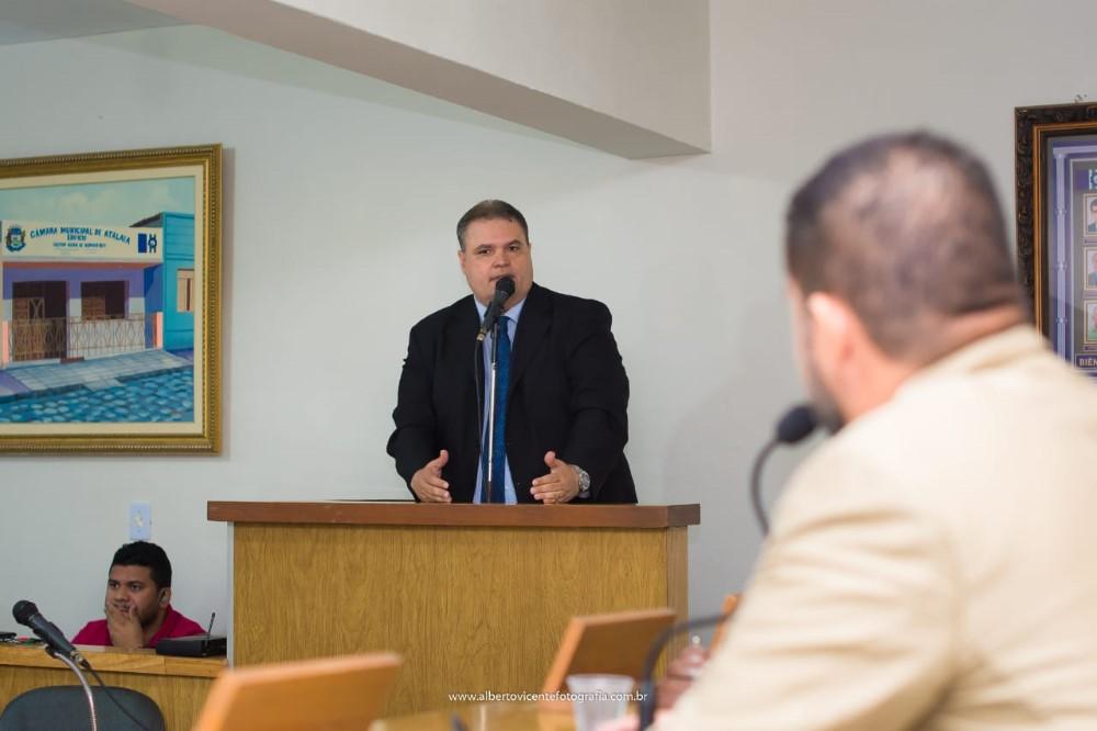 Sessão Ordinária da Câmara Municipal de Atalaia do dia 12 de novembro de 2019