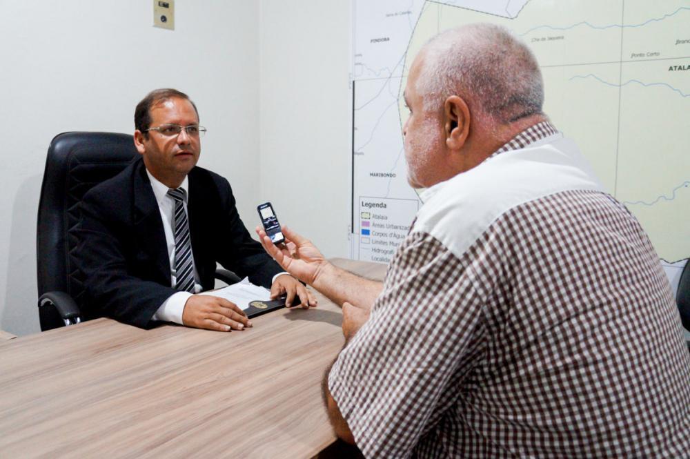 Vereador Alexandre Tenório foi entrevistado pelo radialista Adaias Ferraz.